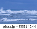 御前崎海岸の波 55514244