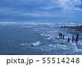 御前崎海岸の波 55514248