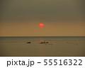 赤い太陽 55516322