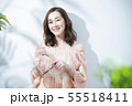 女性 ビューティー 夏の写真 55518411