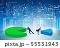 ビジネス 商売 図表の写真 55531943