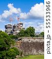 二の丸から見る熊本城天守閣 55533966