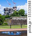 二の丸より望む熊本城天守閣 55533988