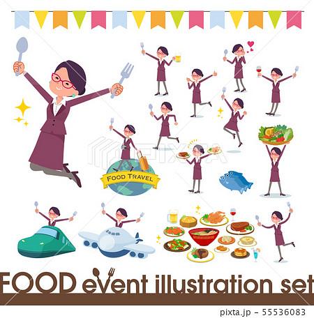 flat type glasses office women_food festival 55536083
