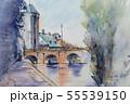 ヨーロッパの街並み 55539150