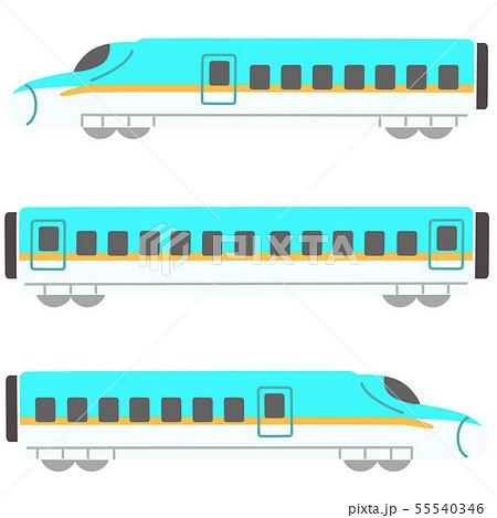 新幹線 ライトブルー 55540346