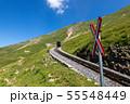 【スイス】 ブリエンツ・ロートホルン鉄道の踏切 55548449
