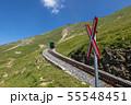 【スイス】 ブリエンツ・ロートホルン鉄道の踏切 55548451