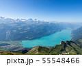 【スイス】 ブリエンツ湖の眺め 55548466