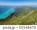 【スイス】 ブリエンツ湖とブリエンツ・ロートホルン鉄道からの眺め 55548470