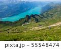 【スイス】 ブリエンツ湖とブリエンツ・ロートホルン鉄道からの眺め 55548474