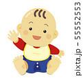 赤ちゃんイラスト01 55552553