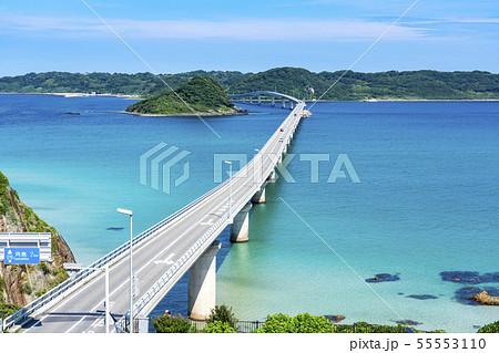 山口県下関市 角島大橋 55553110