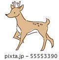 鹿 イラスト 55553390
