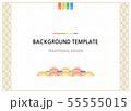 柄 パターン 伝統 55555015