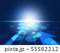 未来 仮想空間 未来的 ビジネス背景 閃光 55562212