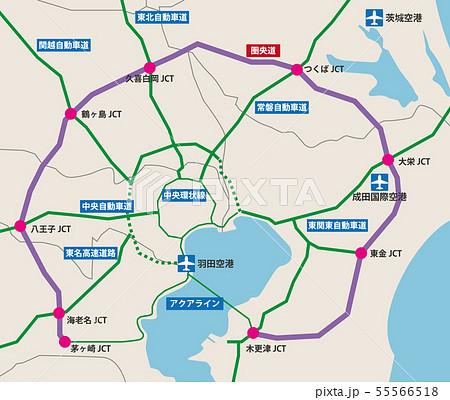 圏央道地図 55566518