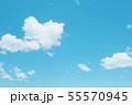 自然風景 空 草原 55570945