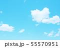 自然風景 空 草原 55570951