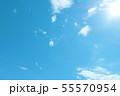 自然風景 空 草原 55570954