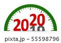 Clock dial 2020, half 55598796