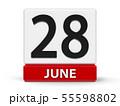 Cubes calendar 28th June 55598802