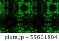 Scary zombie face pattern on black background. 55601804