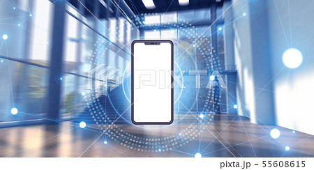 スマートフォン 55608615