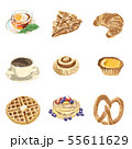 bakery and cafe illustration pack 55611629