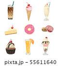 sweet and dessert illustration pack 55611640