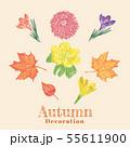 Autumn flower decoration 55611900