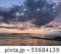 夕焼けの海 permingM 写真素材 55684139