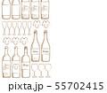 ワインのイラスト背景 55702415