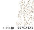 ワインのイラスト背景 55702423