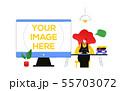 Workflow management - flat design style colorful illustration 55703072