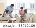 介護 介護士 シニアの写真 55712189