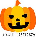 ハロウィン かぼちゃ おばけ 55712879