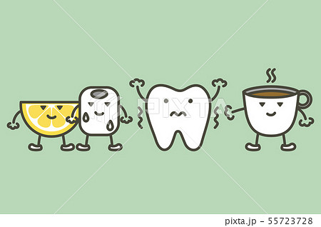 tooth feeling sensitive teeth - cold, sour and hot 55723728