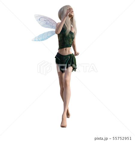 可愛い妖精 perming3DCG イラスト素材 55752951