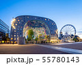 Night view of Rotterdam city with Markthal 55780143