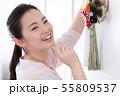 女性 ライフスタイル お正月飾り 55809537