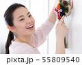 女性 ライフスタイル お正月飾り 55809540