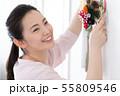 女性 ライフスタイル お正月飾り 55809546