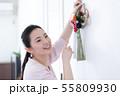 女性 ライフスタイル お正月飾り 55809930