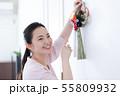 女性 ライフスタイル お正月飾り 55809932