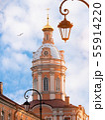 Orthodox church with blue sky 55914220
