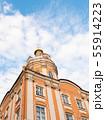 Orthodox church with blue sky 55914223