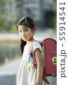 女の子 小学生 子供の写真 55914541