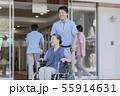 介護 介護士 シニアの写真 55914631