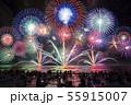 【夏イメージ】花火大会 55915007
